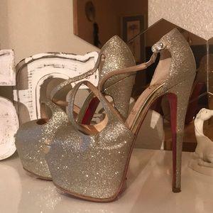 Christian Louboutin high heel stilettos